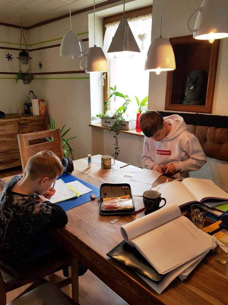 Wir lernen Zuhause