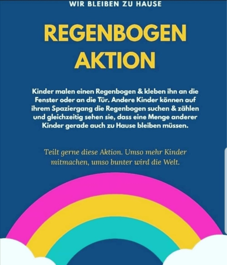 Regenbogen-Aktion